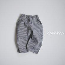 Mind stripe pants<br>3 color<br>『opening N』<br>20FW