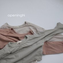 Nature T<br>3 color<br>『opening N』<br>20FW