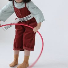 lax worksuit<br>brick red<br>『guno・』<br>20FW
