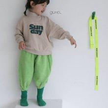 color golden pt<br>neon green<br>『guno・』<br>20FW