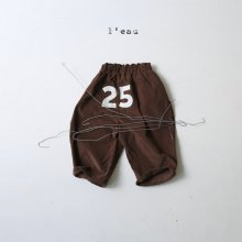 25 pt<br>brown<br>『l'eau』<br>20FW<br>【STOCK】