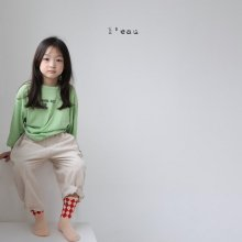 circle T<br>neon green<br>『l'eau』<br>20FW