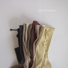 Autumn Rib leggings<br>8 Color<br>『de marvi』<br>20FW 【9/23から発送】
