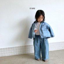 Under denim jacket<br>medium blue<br>『O'ahu』<br>20FW