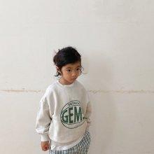 Gems Sweatshirt<br>natural<br>『viviennelee』<br>20FW