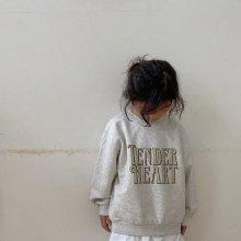 Tender Sweatshirt<br>oatmeal<br>『viviennelee』<br>20FW