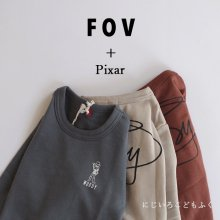 Woody Sweat <br>3 color<br>『FOV + Pixar』<br>20FW 【STOCK】