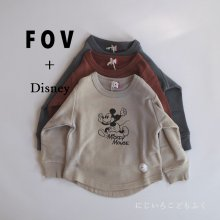 Micky Sweat <br>3 color<br>『FOV + Disney』<br>20FW 【STOCK】