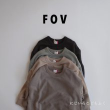 PLAIN big sweatshirt<br>4 color<br>『FOV』<br>20FW 【STOCK】