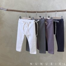 Rib fur leggings<br>4 color<br>『nunubiel』<br>20FW
