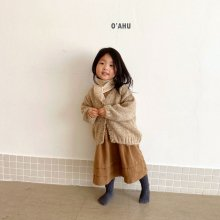 Brownie cardigan<br>2 color<br>『O'ahu』<br>20FW 【PRE ORDER】<img class='new_mark_img2' src='https://img.shop-pro.jp/img/new/icons13.gif' style='border:none;display:inline;margin:0px;padding:0px;width:auto;' />