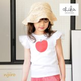 Apple Wing りんご Tシャツ <br>(White/Pink)定価<s>2,900円</s><br><b>30%Off</b><img class='new_mark_img2' src='//img.shop-pro.jp/img/new/icons20.gif' style='border:none;display:inline;margin:0px;padding:0px;width:auto;' />