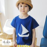 Sailling Ship Tシャツ(Blue)<br><s>定価2,600円</s><br><b>30%Off</b><img class='new_mark_img2' src='//img.shop-pro.jp/img/new/icons20.gif' style='border:none;display:inline;margin:0px;padding:0px;width:auto;' />