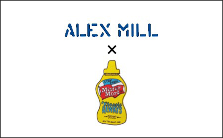 ALEX MILL×MISTER MORT