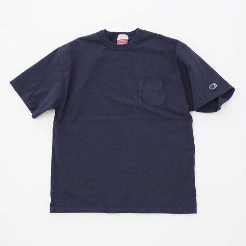 <img class='new_mark_img1' src='//img.shop-pro.jp/img/new/icons54.gif' style='border:none;display:inline;margin:0px;padding:0px;width:auto;' />  KeyHole / POCKET TEE SHIRT - navy