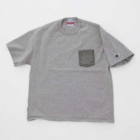 <img class='new_mark_img1' src='//img.shop-pro.jp/img/new/icons54.gif' style='border:none;display:inline;margin:0px;padding:0px;width:auto;' />  KeyHole / POCKET TEE SHIRT - gray