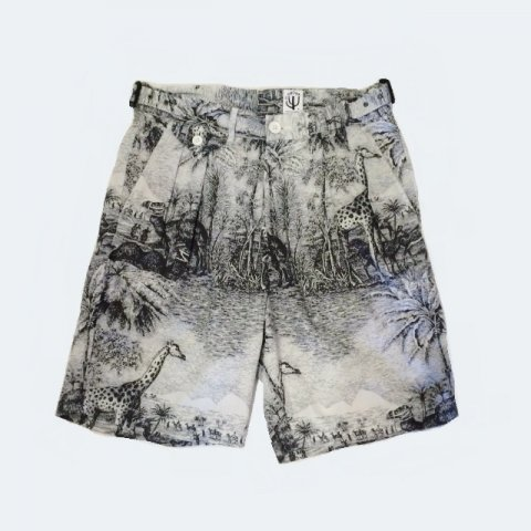 CORONA / FRENCH CAFFE SHORTS - safari