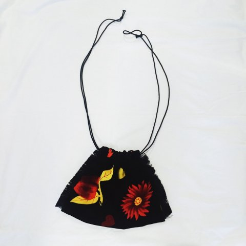 omeal the kinchaku / Flower Mini Bag