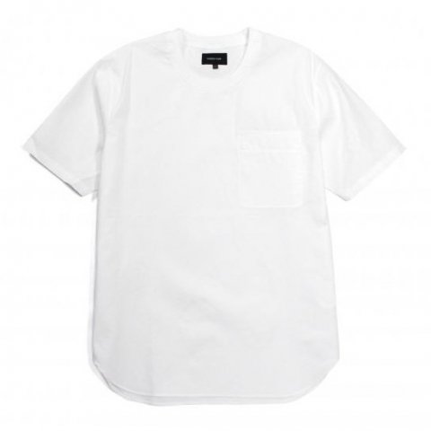MAIDEN NOIR / BROADCLOTH SS SHIRT - white