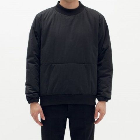 MAIDEN NOIR / INSULATED CREW - black