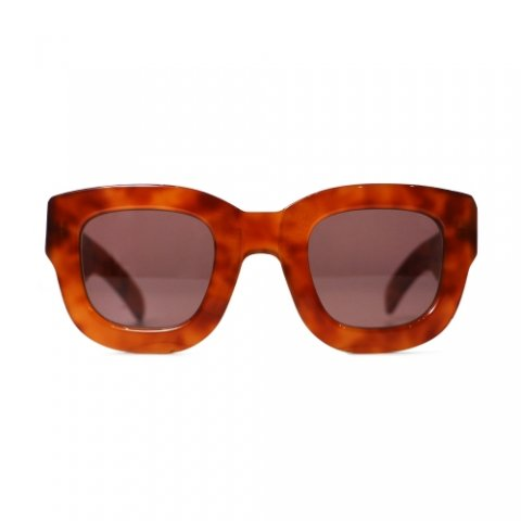 i love ugly / ISSAC SUNGLASSES - brown