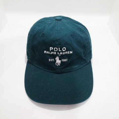 90s Polo Ralph Lauren Cap - green