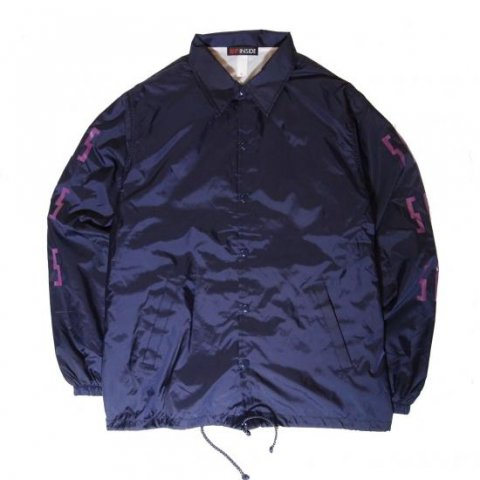 SLIP INSIDE / SIS Coach Jacket - navy