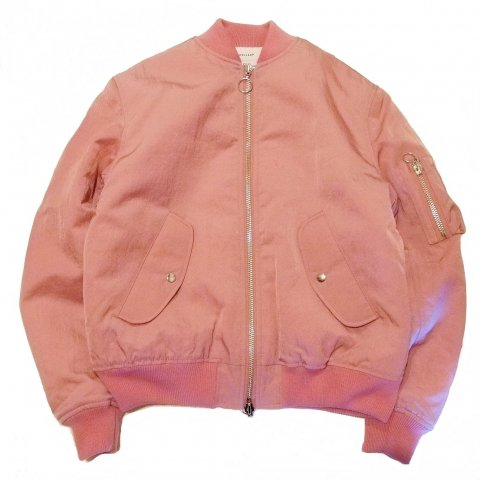 SOULLAND / THOMASSON・BOMBER JACKET - pink