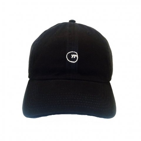 SLIP INSIDE / yygrec Circle Logo Cap - black