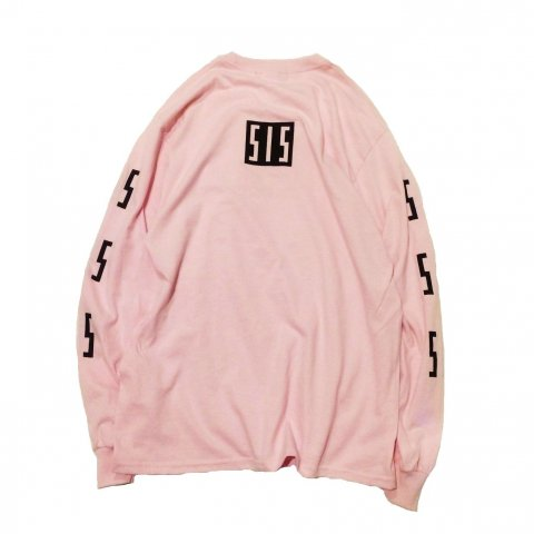 <img class='new_mark_img1' src='//img.shop-pro.jp/img/new/icons3.gif' style='border:none;display:inline;margin:0px;padding:0px;width:auto;' />  SLIP INSIDE / SIS Long Sleeve Tee - pink