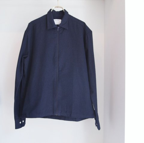 COLTESSE / Zip Shirt Jacket VERTO - blue