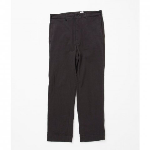 <img class='new_mark_img1' src='//img.shop-pro.jp/img/new/icons3.gif' style='border:none;display:inline;margin:0px;padding:0px;width:auto;' />  FRENCH CAFE PANTS 2 - cotton fleecelined black