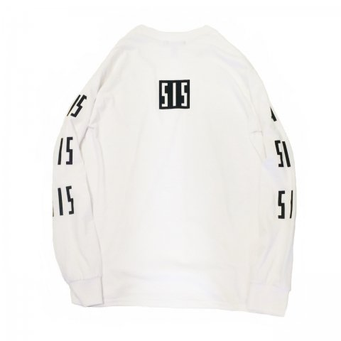 <img class='new_mark_img1' src='//img.shop-pro.jp/img/new/icons54.gif' style='border:none;display:inline;margin:0px;padding:0px;width:auto;' />  SLIP INSIDE / SIS Long Sleeve Tee - white