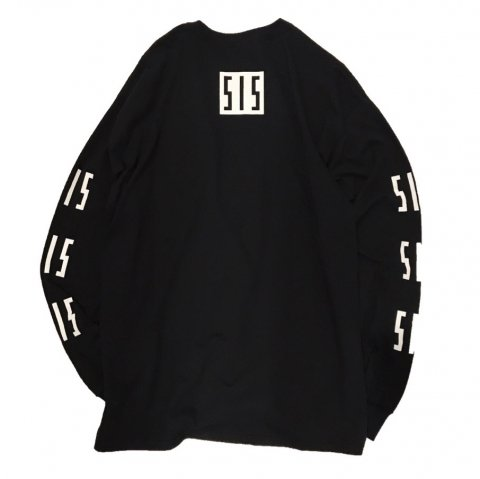 <img class='new_mark_img1' src='//img.shop-pro.jp/img/new/icons3.gif' style='border:none;display:inline;margin:0px;padding:0px;width:auto;' />  SLIP INSIDE / SIS Long Sleeve Tee - black