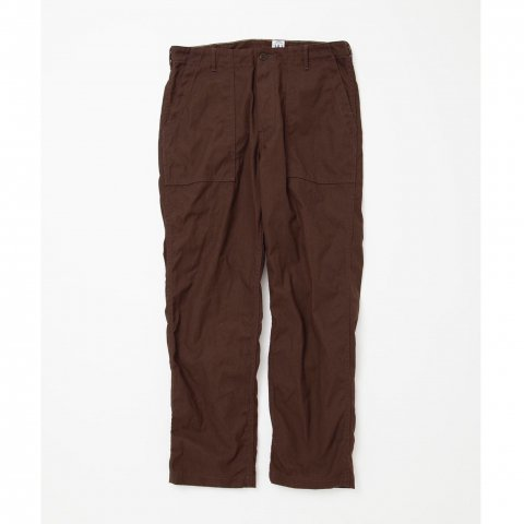 CORONA / UTILITY SLACKS - cotton duck brown
