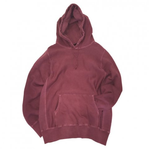 MAIDEN NOIR / Natural Dyed Hoodie Fleece - berry