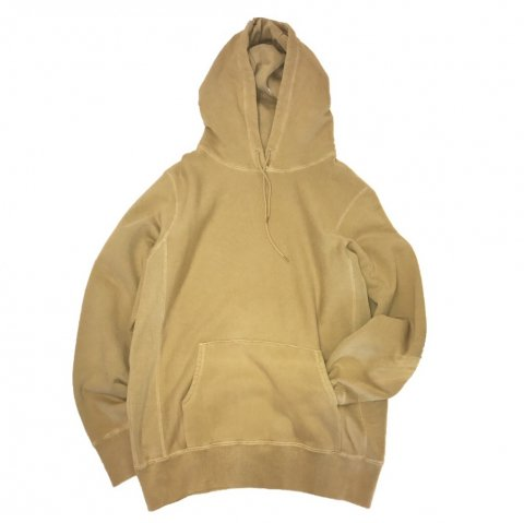 MAIDEN NOIR / Natural Dyed Hoodie Fleece - mustard