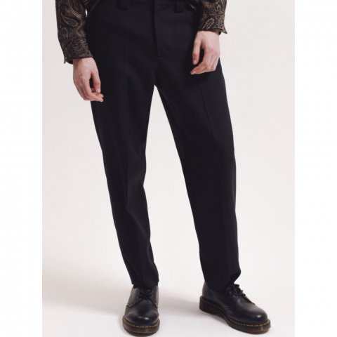 <img class='new_mark_img1' src='//img.shop-pro.jp/img/new/icons3.gif' style='border:none;display:inline;margin:0px;padding:0px;width:auto;' />  MAIDEN NOIR / Work Trouser - black