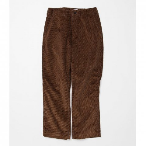 <img class='new_mark_img1' src='//img.shop-pro.jp/img/new/icons3.gif' style='border:none;display:inline;margin:0px;padding:0px;width:auto;' />  CORONA / DESERT SLACKS - tweeduroy khaki × brown