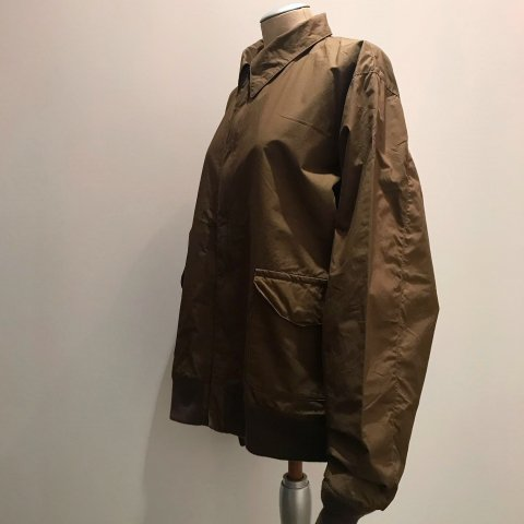 CORONA / A-2 JACKET - typewriter cloth khaki