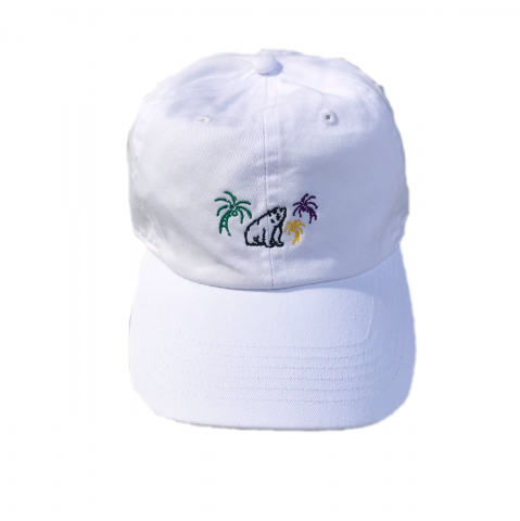 shirokuma / shirokuma Tropical Cap - white
