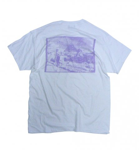 SPUT performance / Egypt? T-shirt - lavender