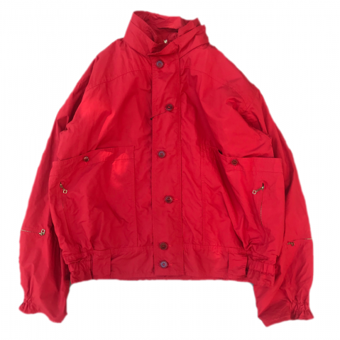 CORONA / HUNTER HIKER JACKET -  typewriter cloth  / red