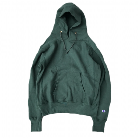Champion / Reverse Weave Pullover Sweat Parker - moss green