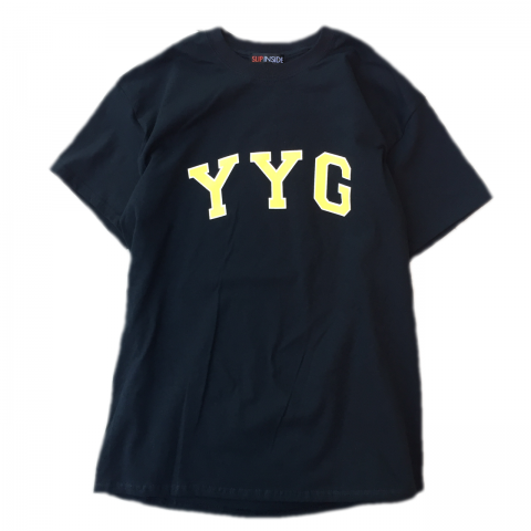 <img class='new_mark_img1' src='//img.shop-pro.jp/img/new/icons3.gif' style='border:none;display:inline;margin:0px;padding:0px;width:auto;' />  SLIP INSIDE / YYG Tee - black × yellow