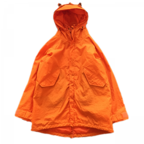 CORONA / G-1 PARKA COAT / BAYHEAD CLOTH - orange