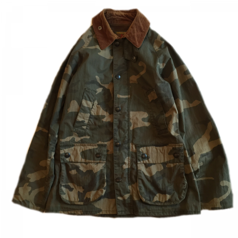 Used Barbour Camo Jacket