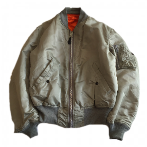 ALPHA INDUSTRIES Silver MA-1