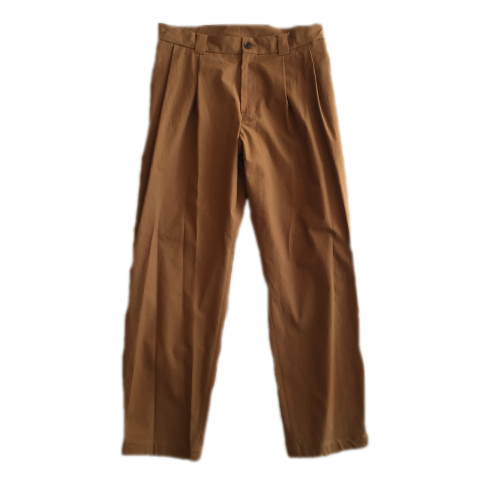 tone / 2TAC TROUSER - brown