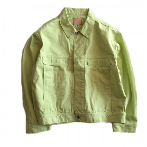 tone / TWILL TRACKER JACKET - melon sherbet